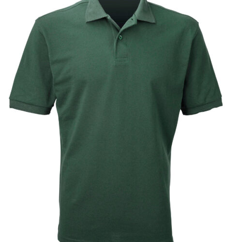 Russell 599M polo shirt by global image embroidery