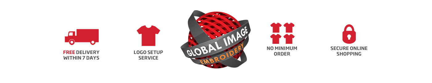 Global Image Embroidery Logo